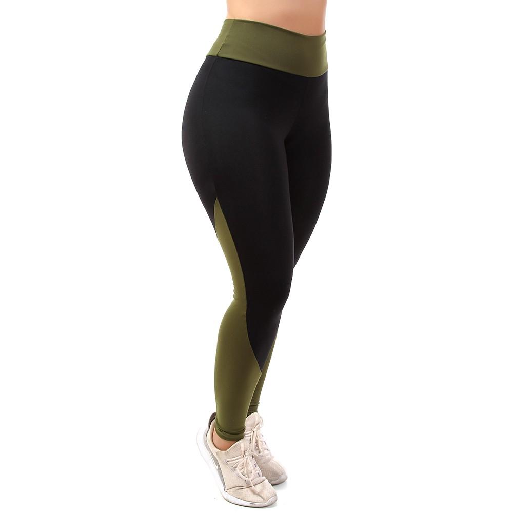 Calça Legging Go Fit Rio Multicor Fitness