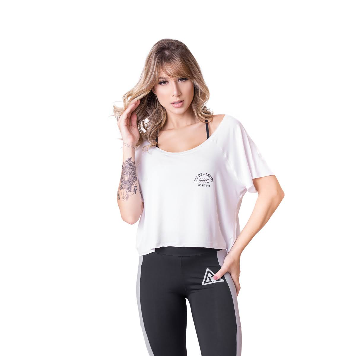 Cropped Fitness Go Fit Rio Equilibrium