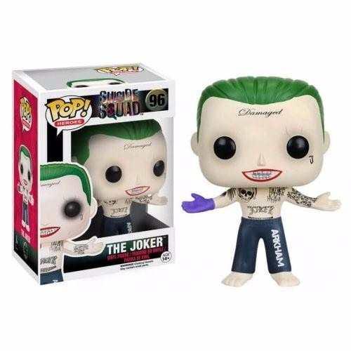 Joker / Coringa - Funko Pop- Esquadrão Suicida - Dc Comics