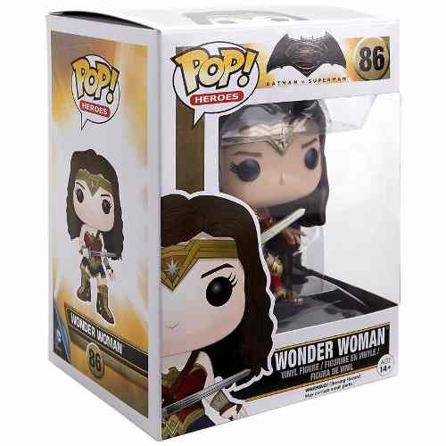 Wonder Woman/ Mulher Maravilha Funko Pop Batman Vs Superman.