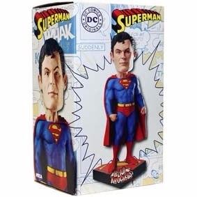 Estatueta Superman - Dc Head Knocker - (super Homem)