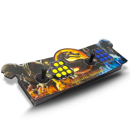 Arcade Fliperama Portatil com 14 mil Jogos desenho do Mortal Kombat
