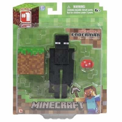 Boneco Minecraft Enderman com Acessórios Sortidos - Multikids