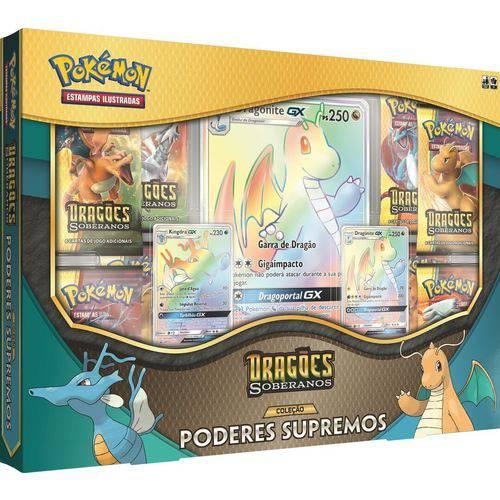 Box Coleção Poderes Supremos Dragões Soberanos