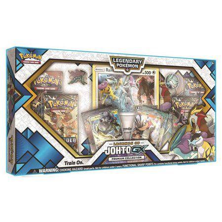 Box Pokemon Coleção Lendas de Johto - GX