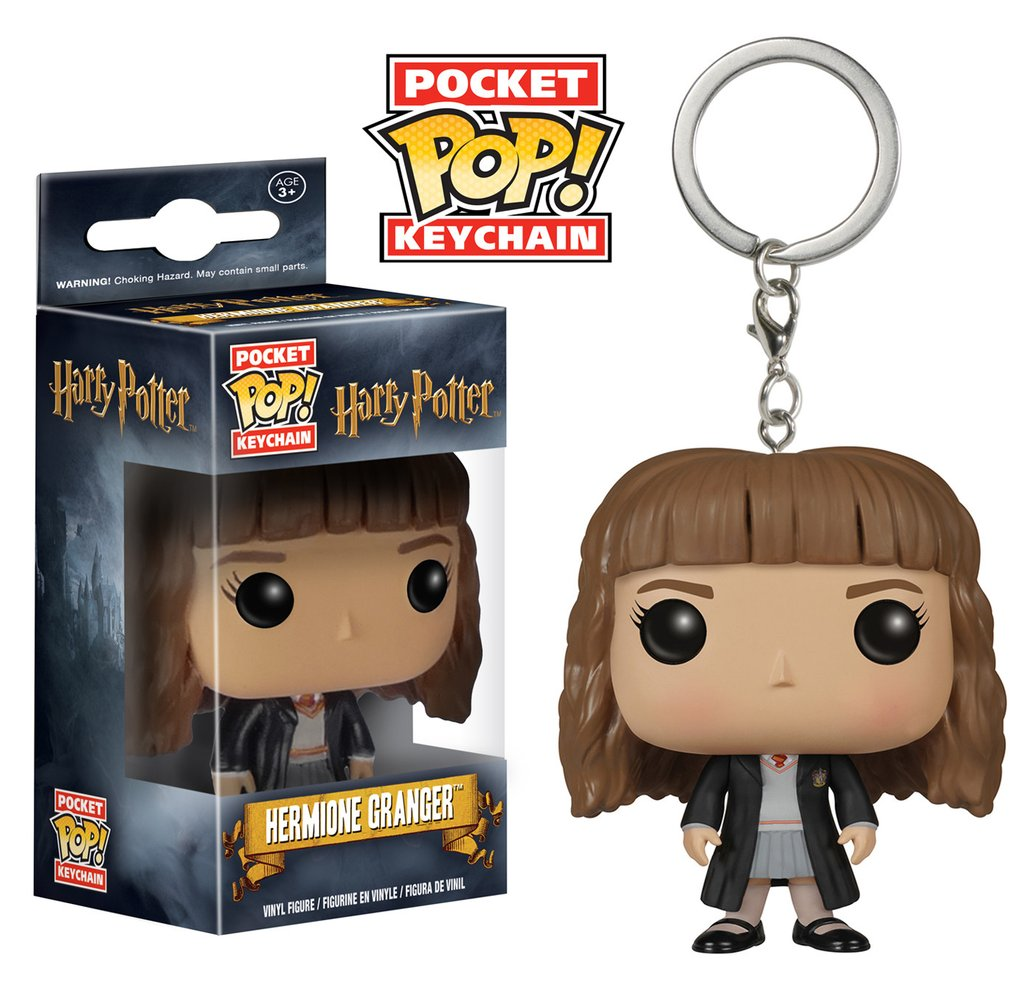 Chaveiro Harry Potter - Hermione Pocket Pop! Keychain