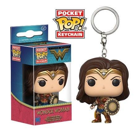 Chaveiro Mulher Maravilha Pocket Pop! Keychain: DC - Movie