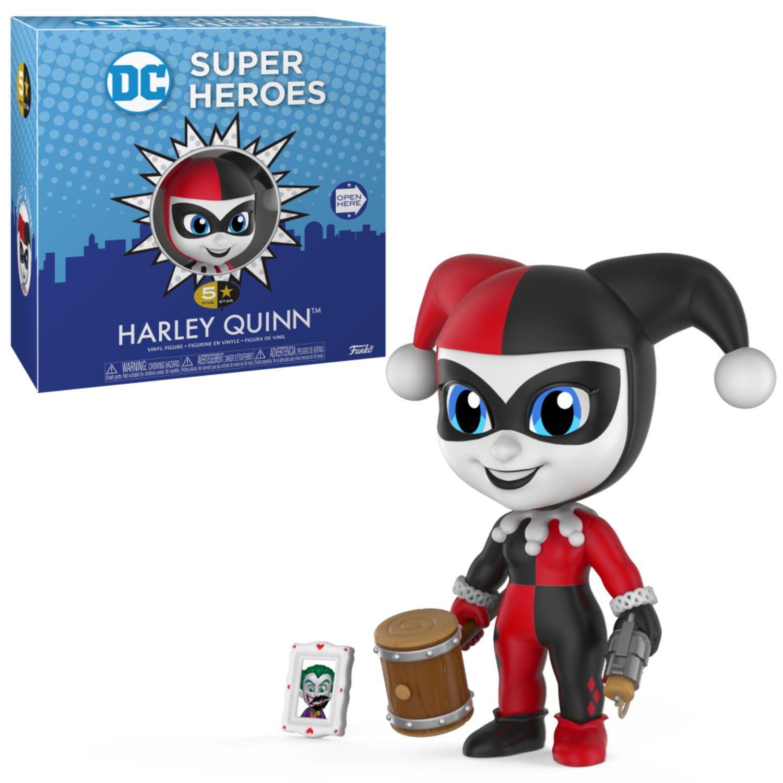 Dc Super Heroes - Harley Quinn - Funko 5 Star