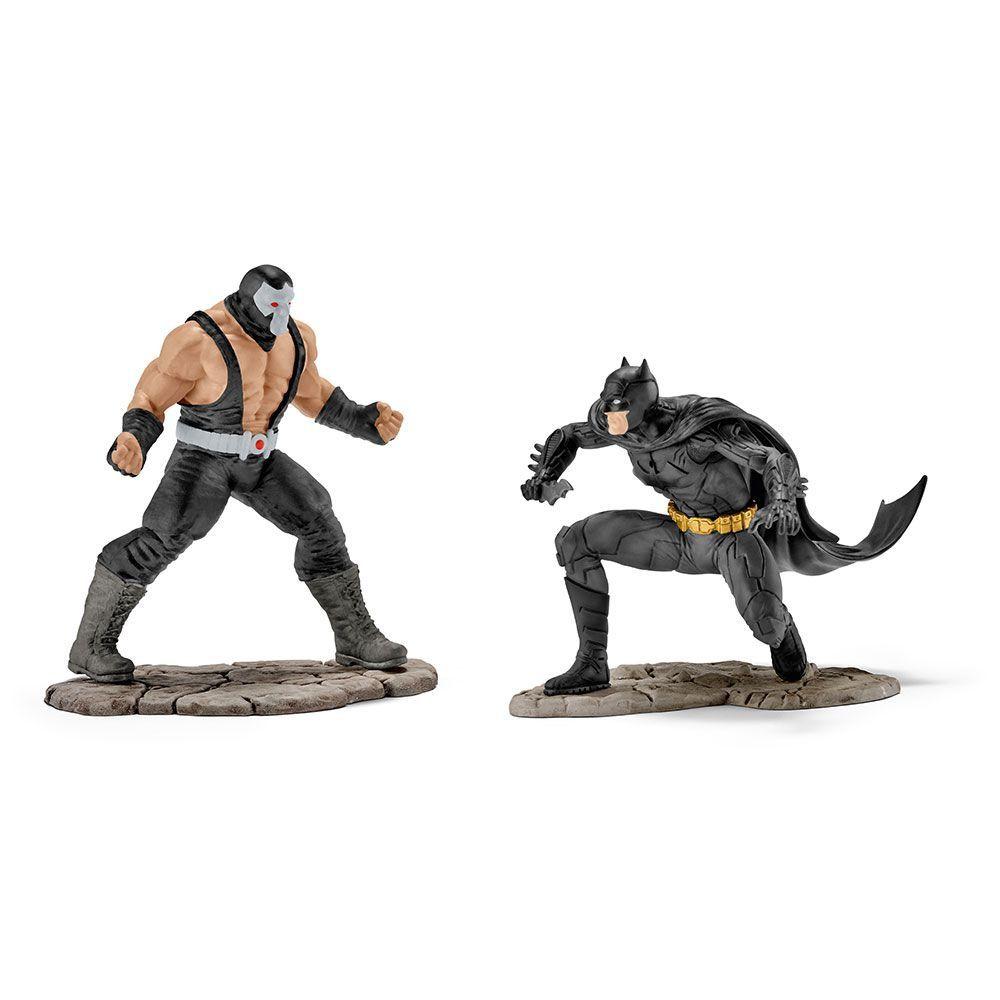 Estatueta Batman VS Bane DC Comics - Schleich