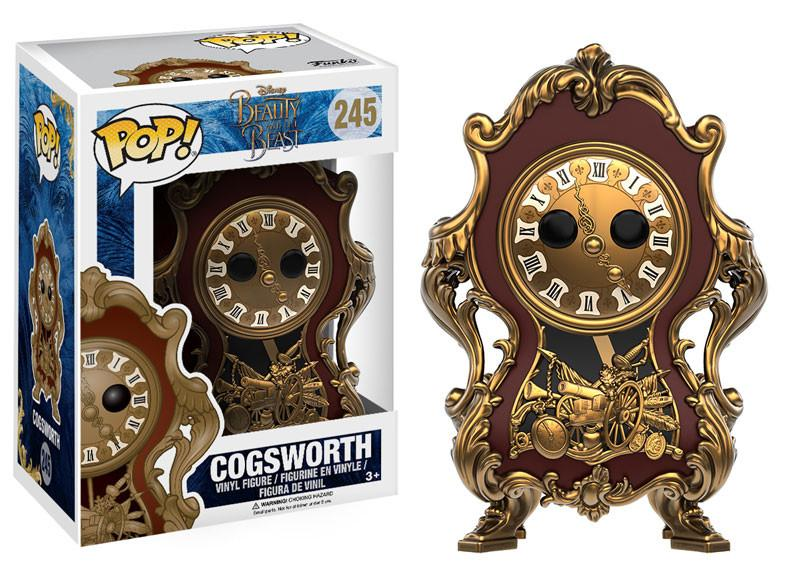 Funko Pop! Disney: Beauty & The Beast - Cogsworth