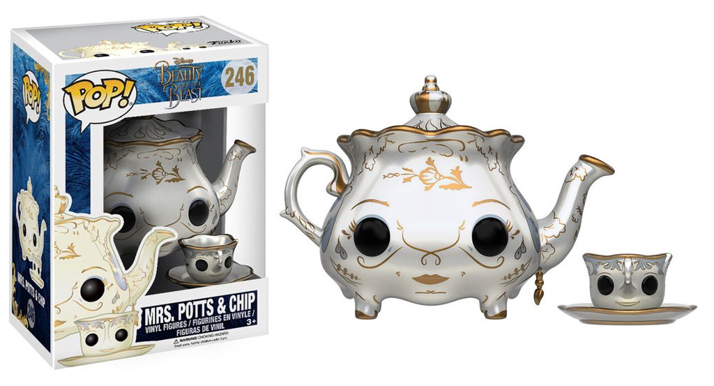 Funko Pop! Disney: Beauty & The Beast - Mrs. Potts & Chip