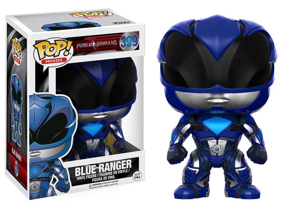 FUNKO POP! MOVIES: POWER RANGERS - BLUE RANGER ( AZUL )