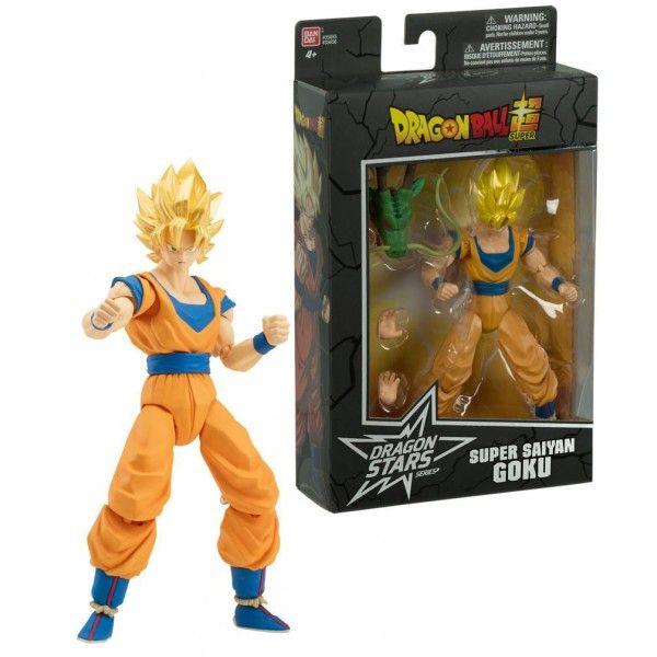 Goku - Dragon Ball Super - Boneco Articulado - com Peça Colecionável