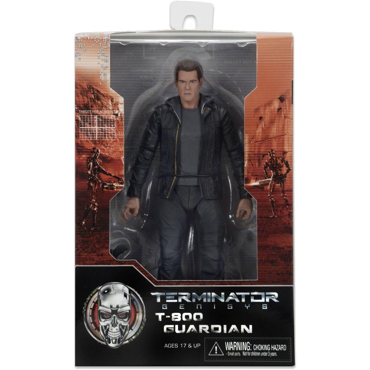 Exterminador Do Futuro Guardian T-800 - Terminator Genisys - Series 1 - NECA