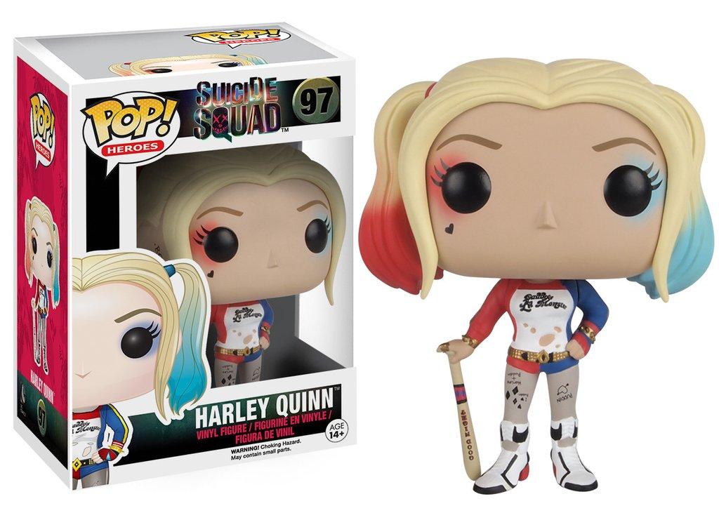 Harley Quinn Arlequina Esquadrão Suicida Funko Pop Heroes