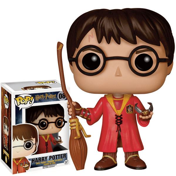 Harry Potter: Harry (Quidditch) Quadribol Funko Pop