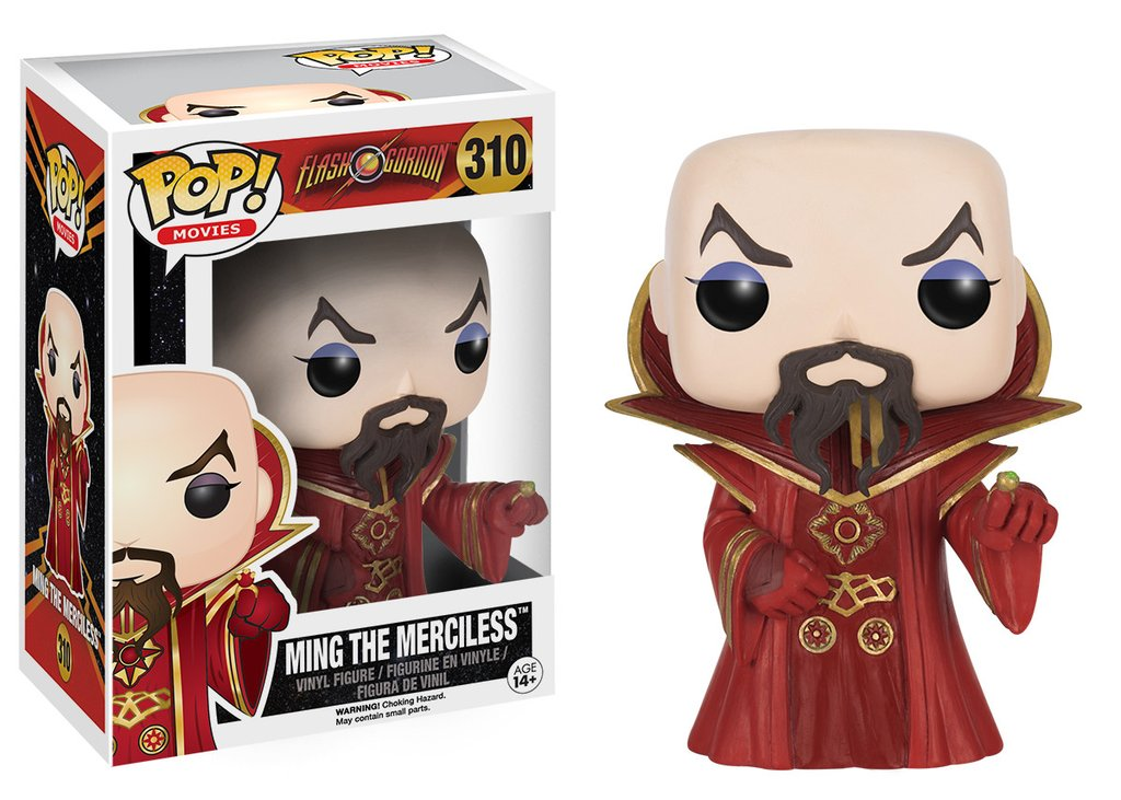Imperador Ming - Flash Gordon - Funko Pop!