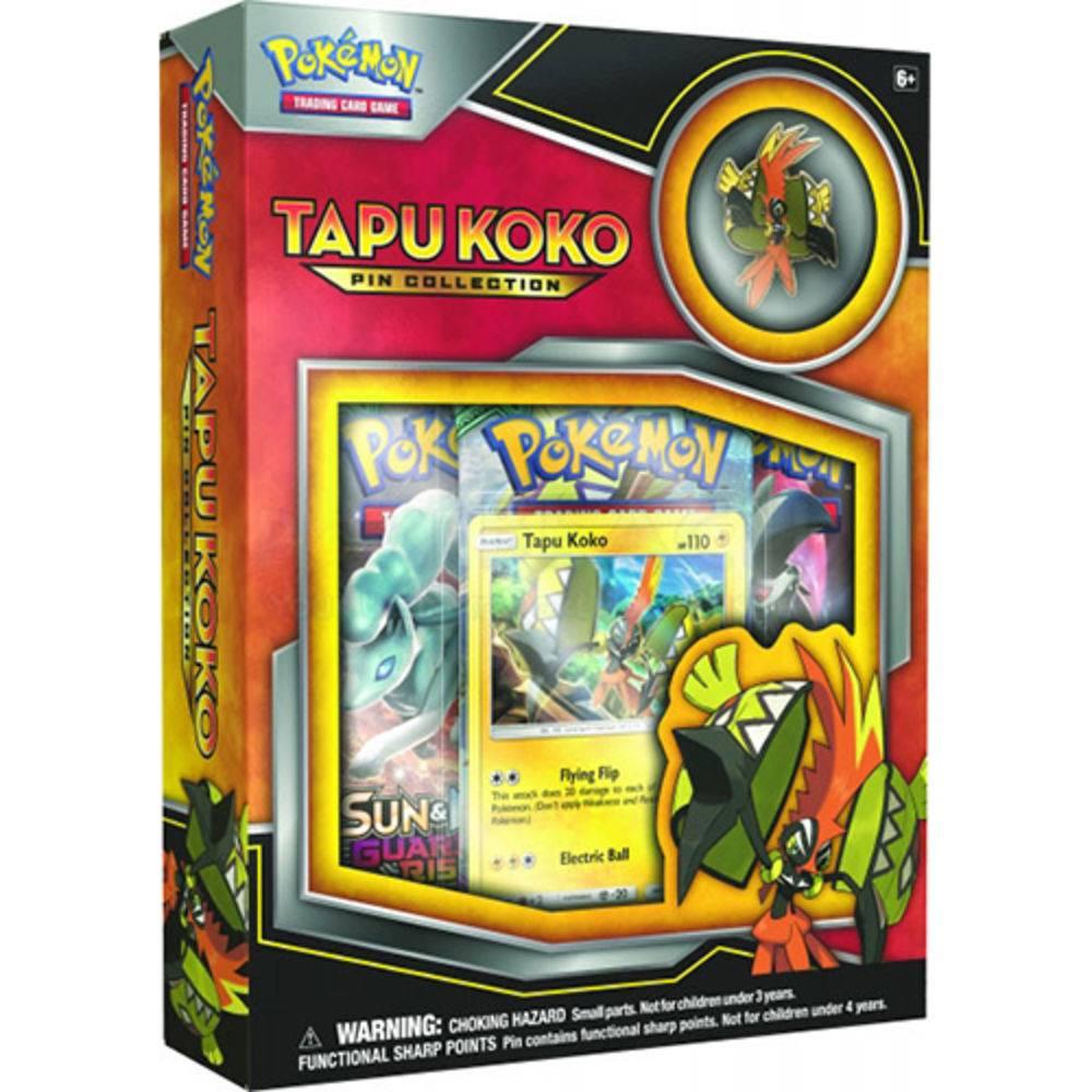 Jogo Deluxe - Mini Box Pokémon - Coleção com Broche - Tapu Koko - Copag