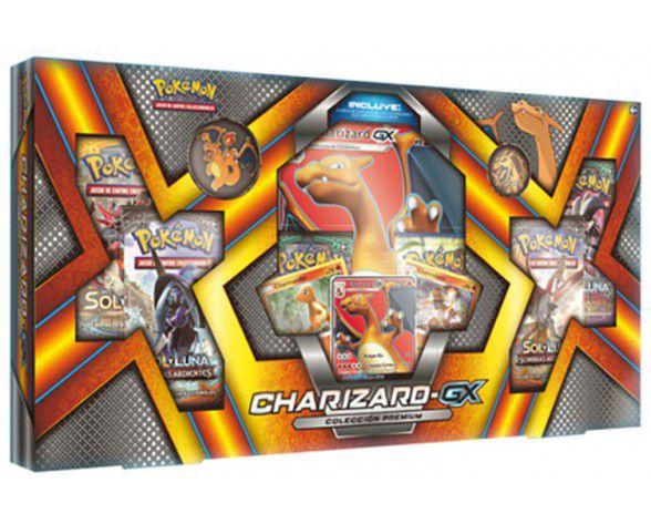 Jogo Pokémon - Box Charizard-GX - Copag
