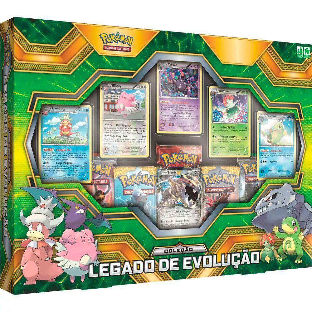 Jogo Pokémon - Coleção Legado de Evolução - Copag