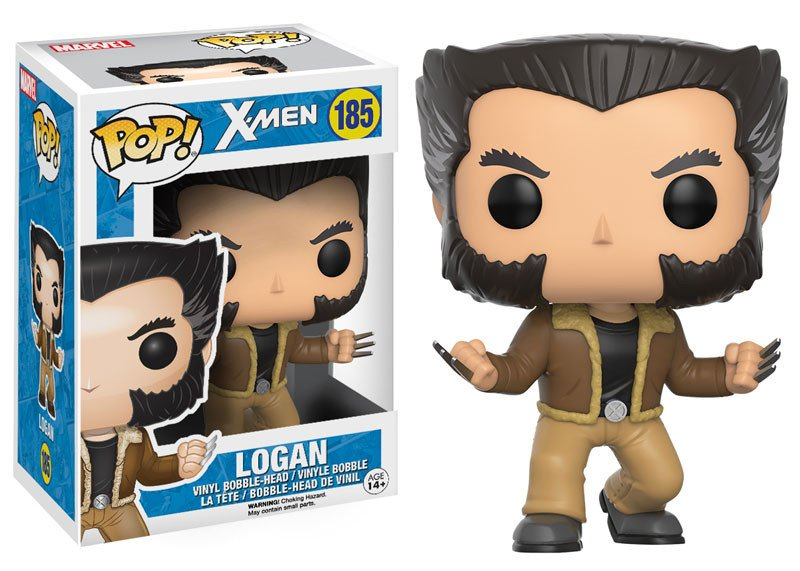 Logan Wolverine Funko Pop! Marvel: X-Men
