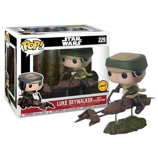 Luke Skywalker Speeder Bike  (Chase) Star Wars - Funko Pop