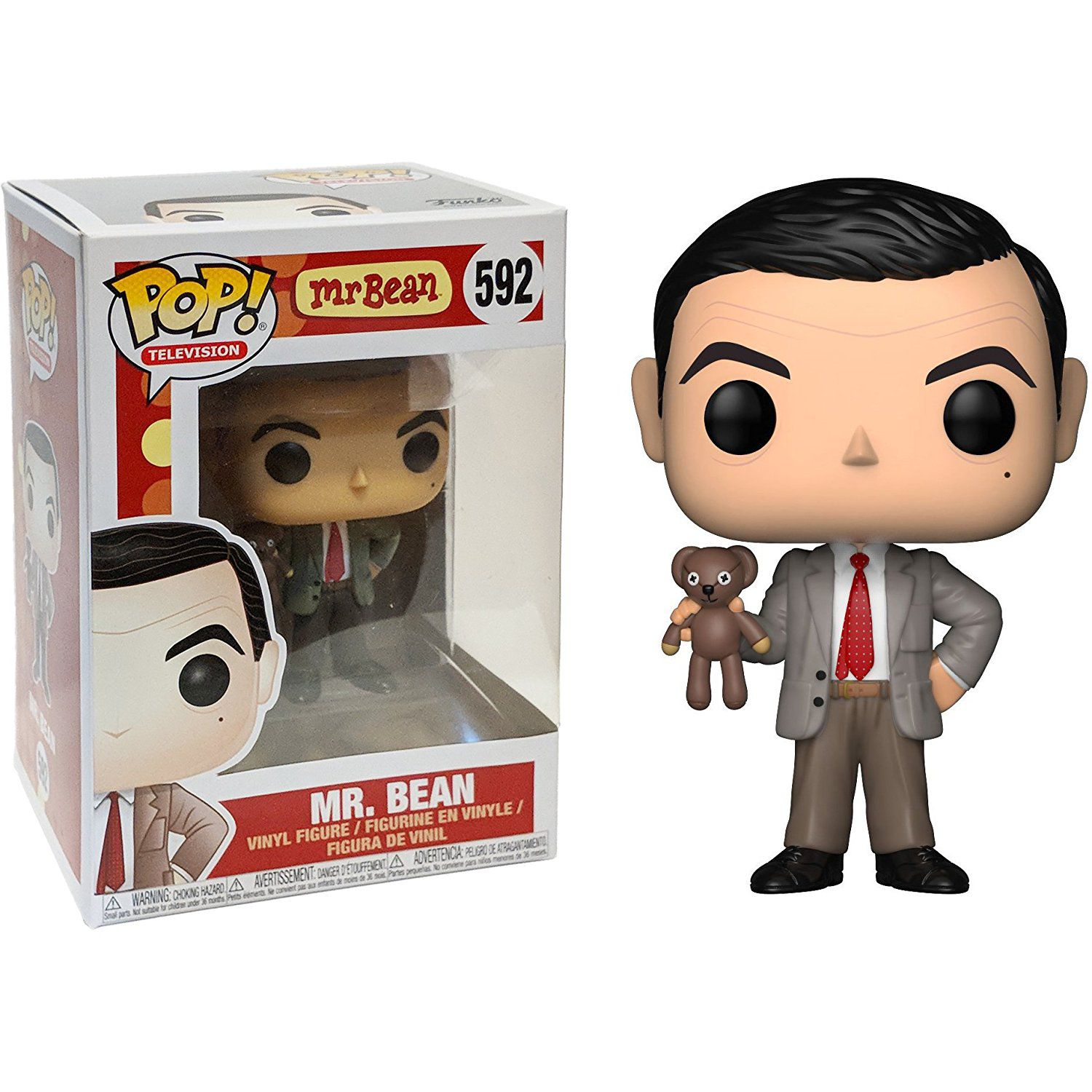 Mr. Bean Funko Pop! TV Vinyl Figures