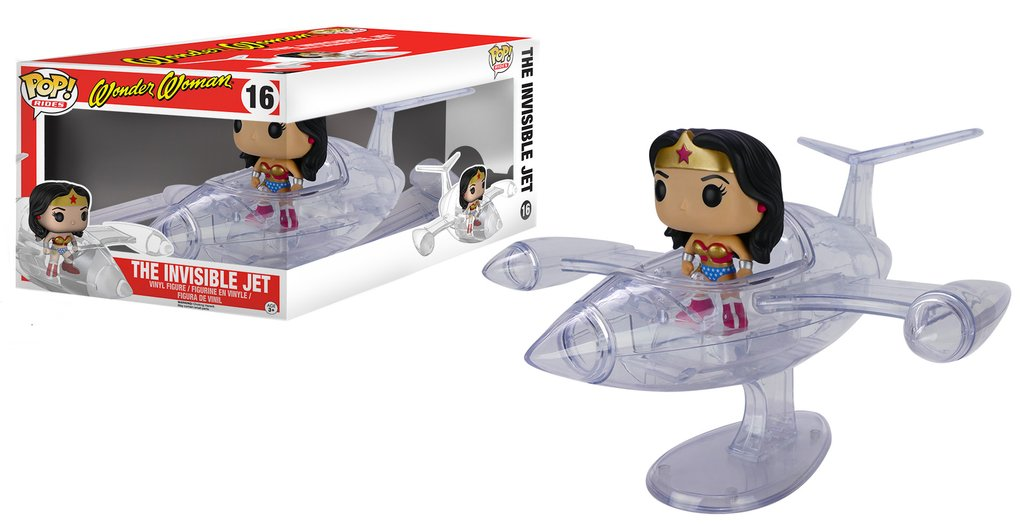 Mulher Maravilha - Wonder Woman Invisible Jet - Dc Funko Pop
