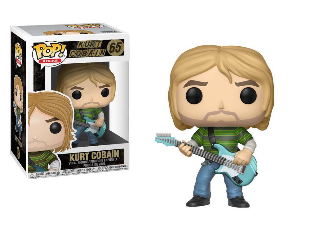 Nirvana Kurt Cobain Funko Pop