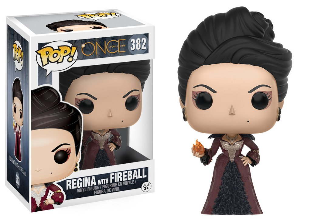 ONCE UPON A TIME - REGINA WITH FIREBALL FUNKO POP! TV