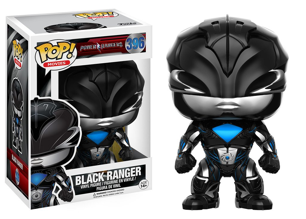 POWER RANGERS - BLACK RANGER FUNKO POP! MOVIES