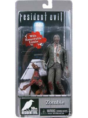Resident Evil 10th Aniversário Zombie Dog Figura De Ação