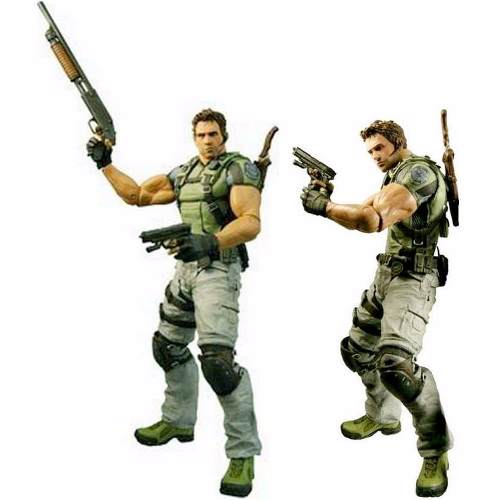 Resident Evil 5 Chris Redfield Pvc Action Figure
