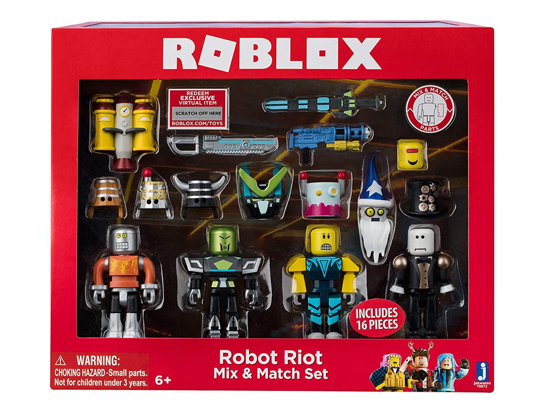 Roblox Mix & Match Robot Riot Figure 4 - Pack Set