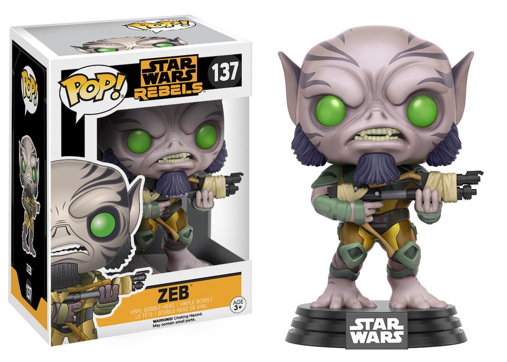 STAR WARS: REBELS - ZEB - FUNKO POP!