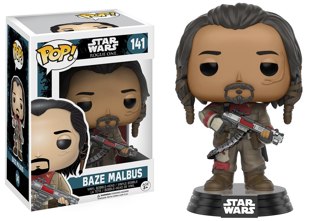 STAR WARS: ROGUE ONE -  BAZE MALBUS - FUNKO POP!