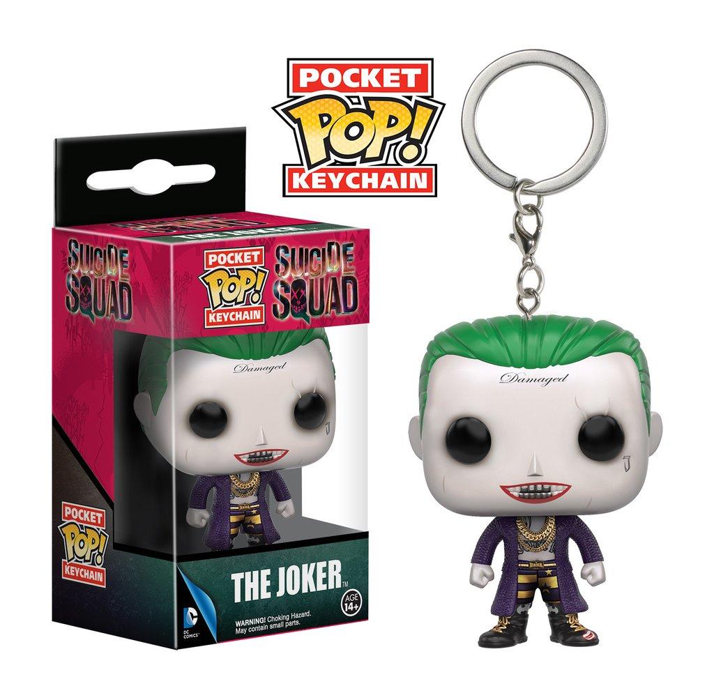 The Joker Chaveiro - Coringa Esquadrão Suicida - Funko