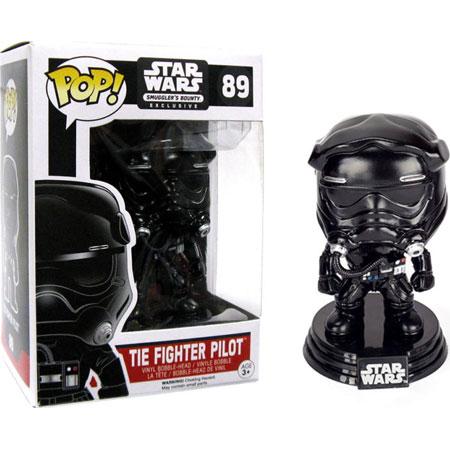 Tie Fighter Pilot Exclusivo Smugglers Bounty Funko Pop!