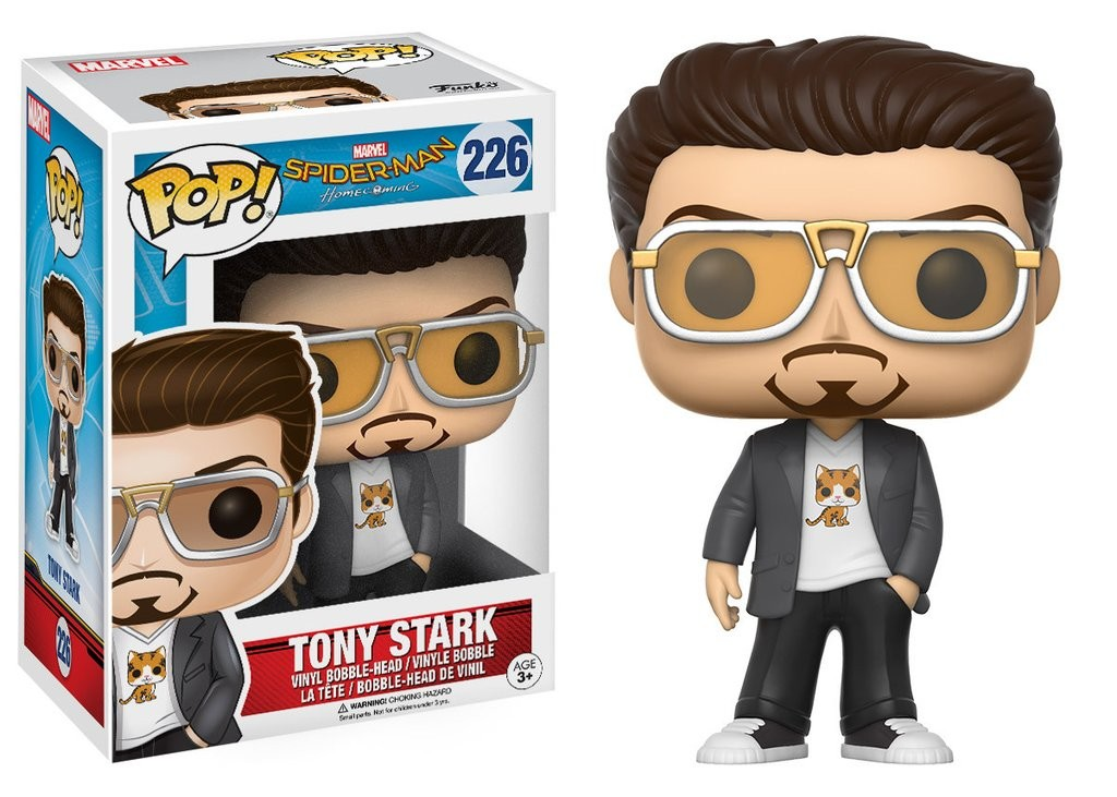 Tony Stark Funko Pop! Marvel: Spider-Man Homecoming