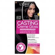 Coloração Creme Loreal 100 Preto Noite Casting Gloss