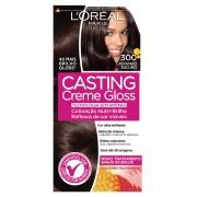 Coloração Creme 300 Castanho Escuro Casting Gloss