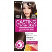 Coloração Creme 400 Castanho Natural Casting Gloss | L'oréal Paris