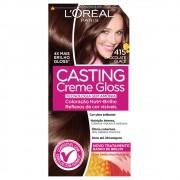 Coloração Creme 415 Chocolate Glacê Casting Gloss