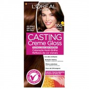 Coloração Creme 500 Castanho Claro Casting Gloss | L'oréal Paris