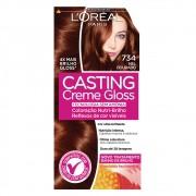 Coloração Creme 734 Mel Dourado Casting Gloss | L'oréal Paris