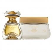 Combo Elysée Blanc: Eau de Parfum + Creme Acetinado Desodorante