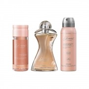 Combo Glamour: Desodorante Colônia + Óleo Corporal + Desodorante Antitranspirante Aerossol