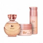 Combo Liz: Desodorante Colônia + Loção Desodorante Hidratante + Sabonete Líquido