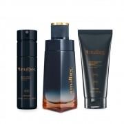 Combo Malbec Flame: Desodorante Colônia + Loção Desodorante Hidratante + Desodorante Body Spray