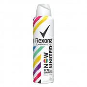 Desodorante Antitranspirante Aerossol Now United - 150 Ml   Rexona